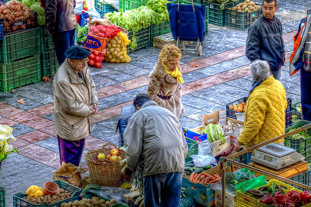 Defensible marketplace outdoor